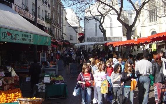 Rue Mouffetard Market Street