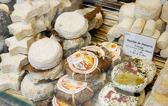 The Great Cheeses:  Look for the Blue & White Label:  AOC or Appellation Controllé
