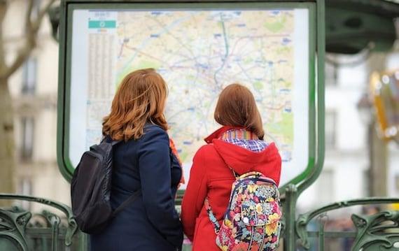 Paris Métro & RER Map