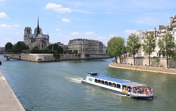 1. Take a cruise down the Seine River