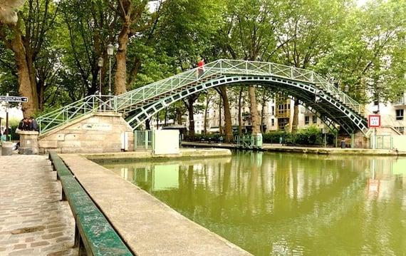 7. Stroll Along Canal St-Martin