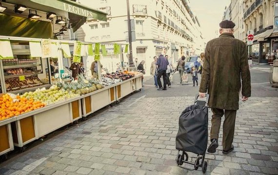 Shopping for Food in Paris