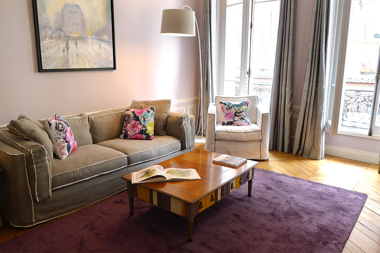 Stylish 2 Bedroom Paris Vacation Rental in Latin Quarter near Seine