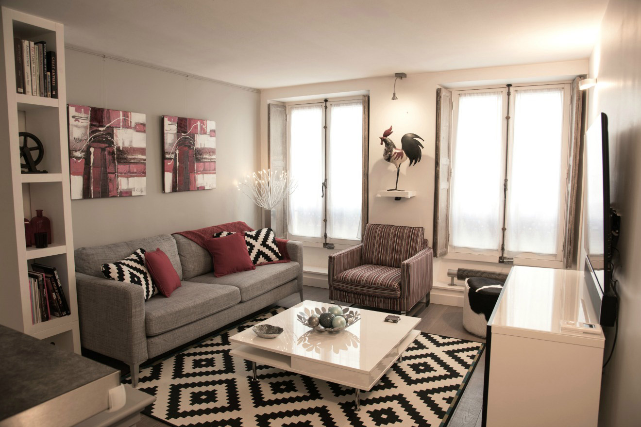 Impeccable Two Bedroom Paris Vacation Rental in Saint-Germain-des-Prés