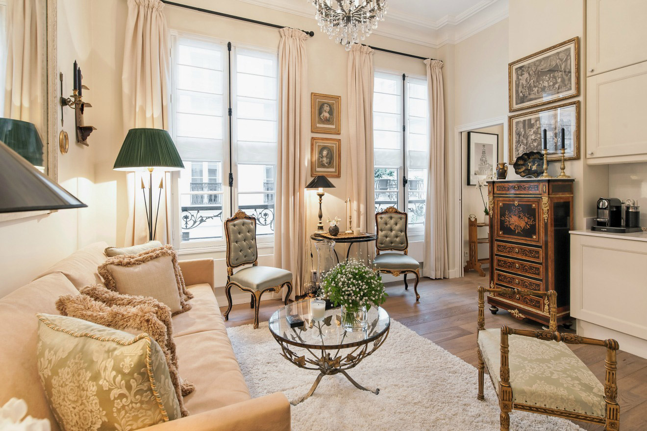 One Bedroom Apartment Rental in Paris - Near Seine and Orsay Museum