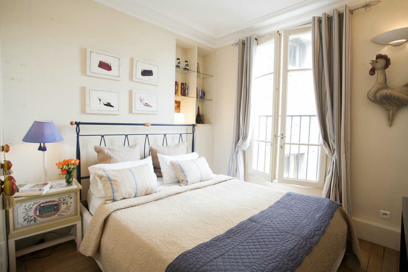 book 3 bedroom apartment rental paris on the left bank