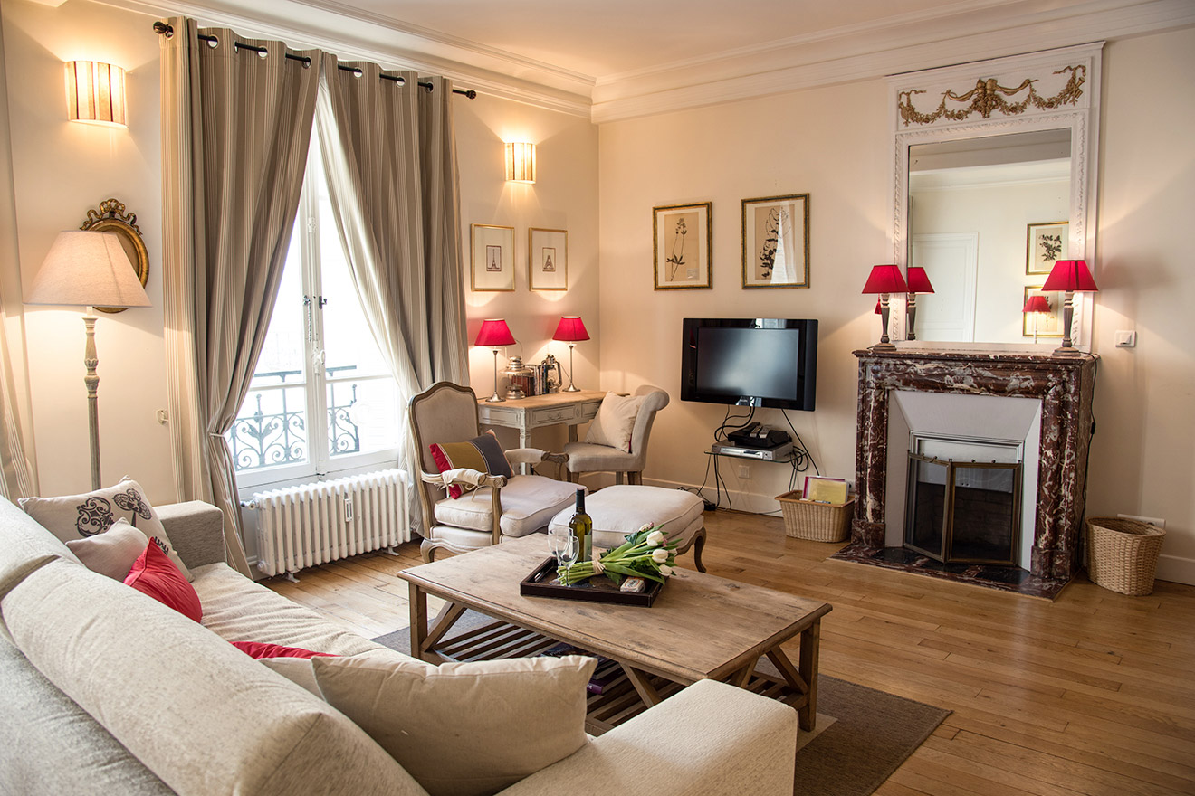 Book 2 Bedroom Paris Apartment Rental