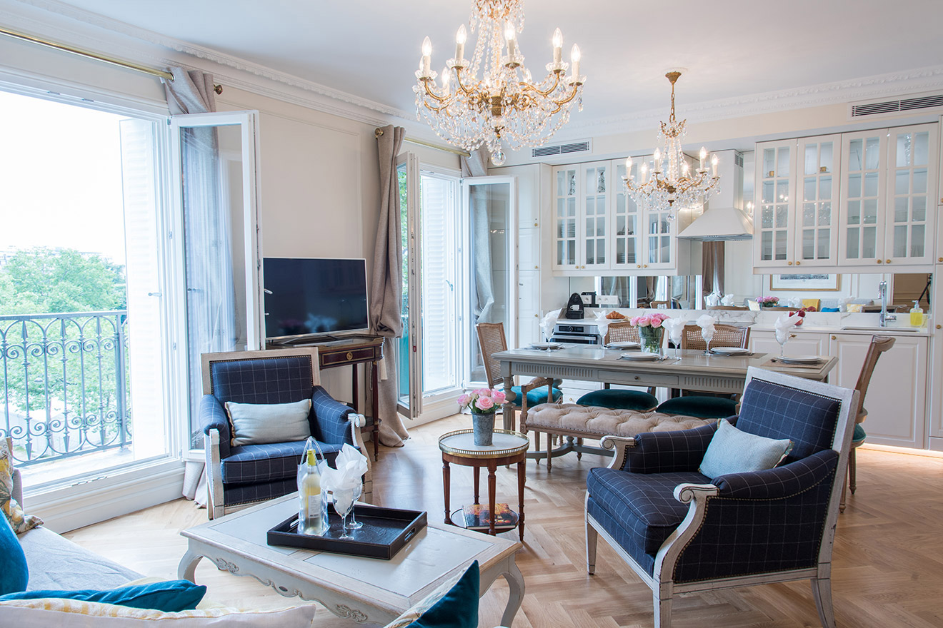 2 Bedroom Paris Apartment near Eiffel Tower with A/C ...