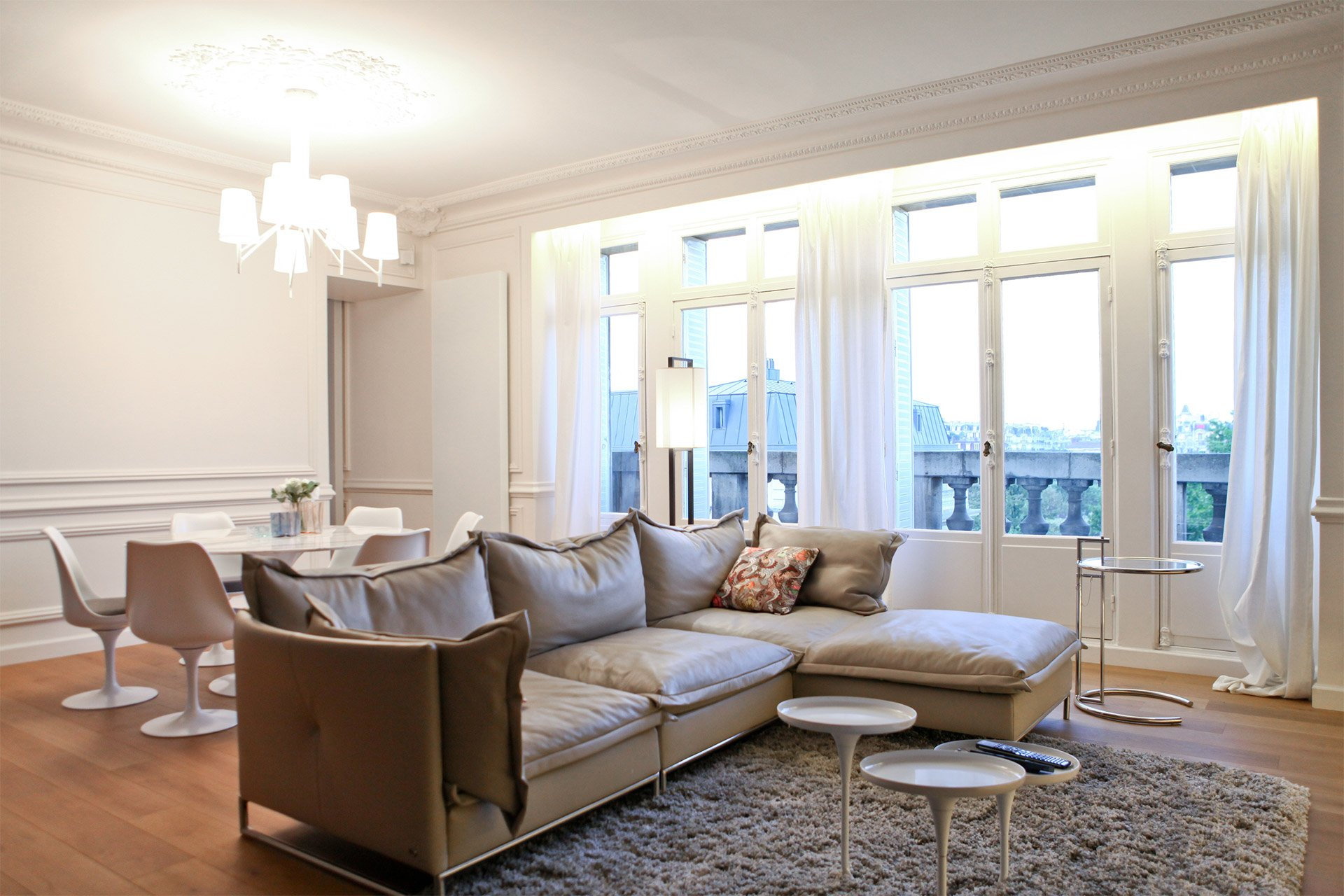 Breathtaking Eiffel Tower Views From The Brion Long Term Paris Rental