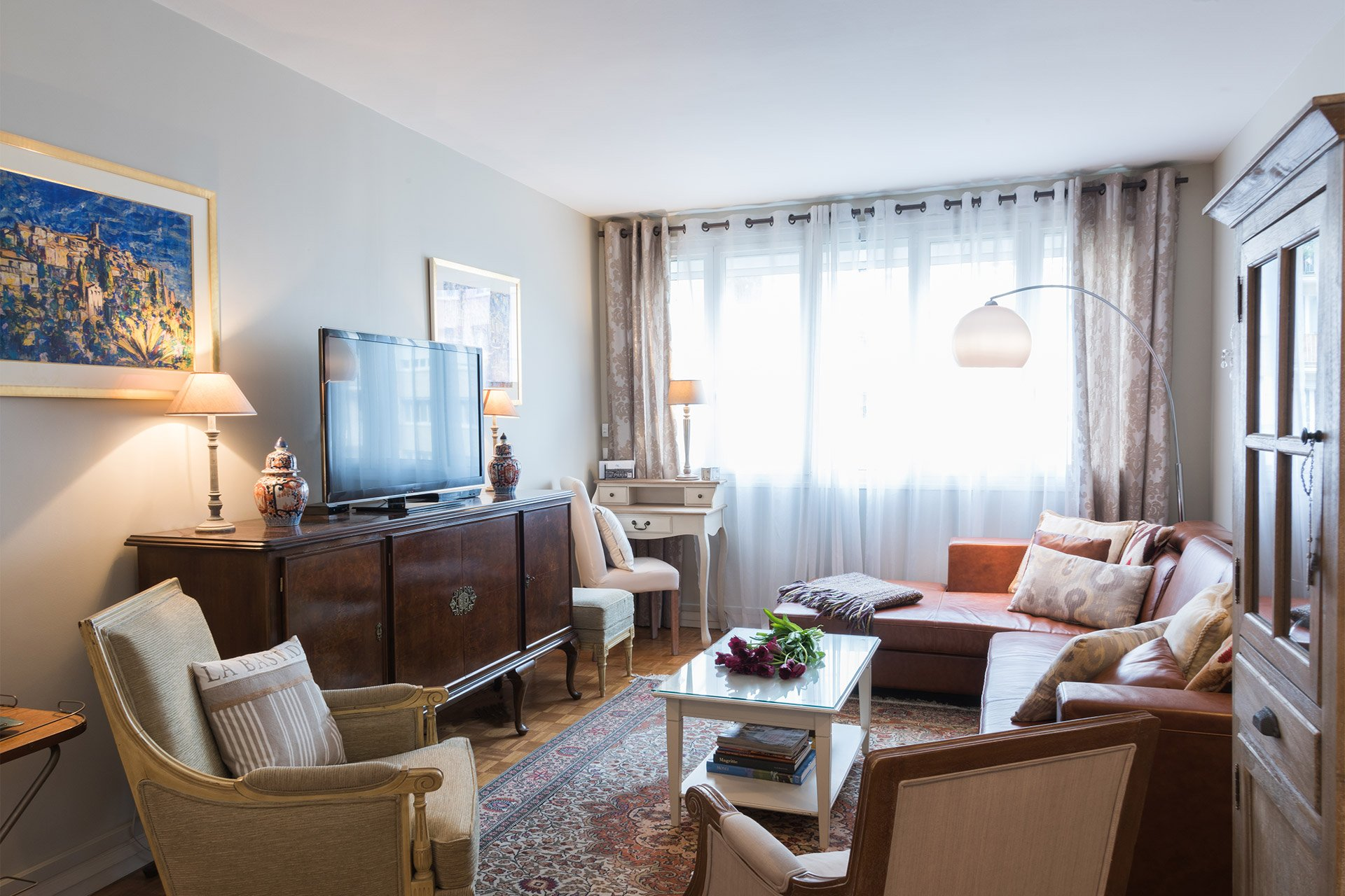 Two Bedroom Apartment for Rent in 15th Arrondissement Paris