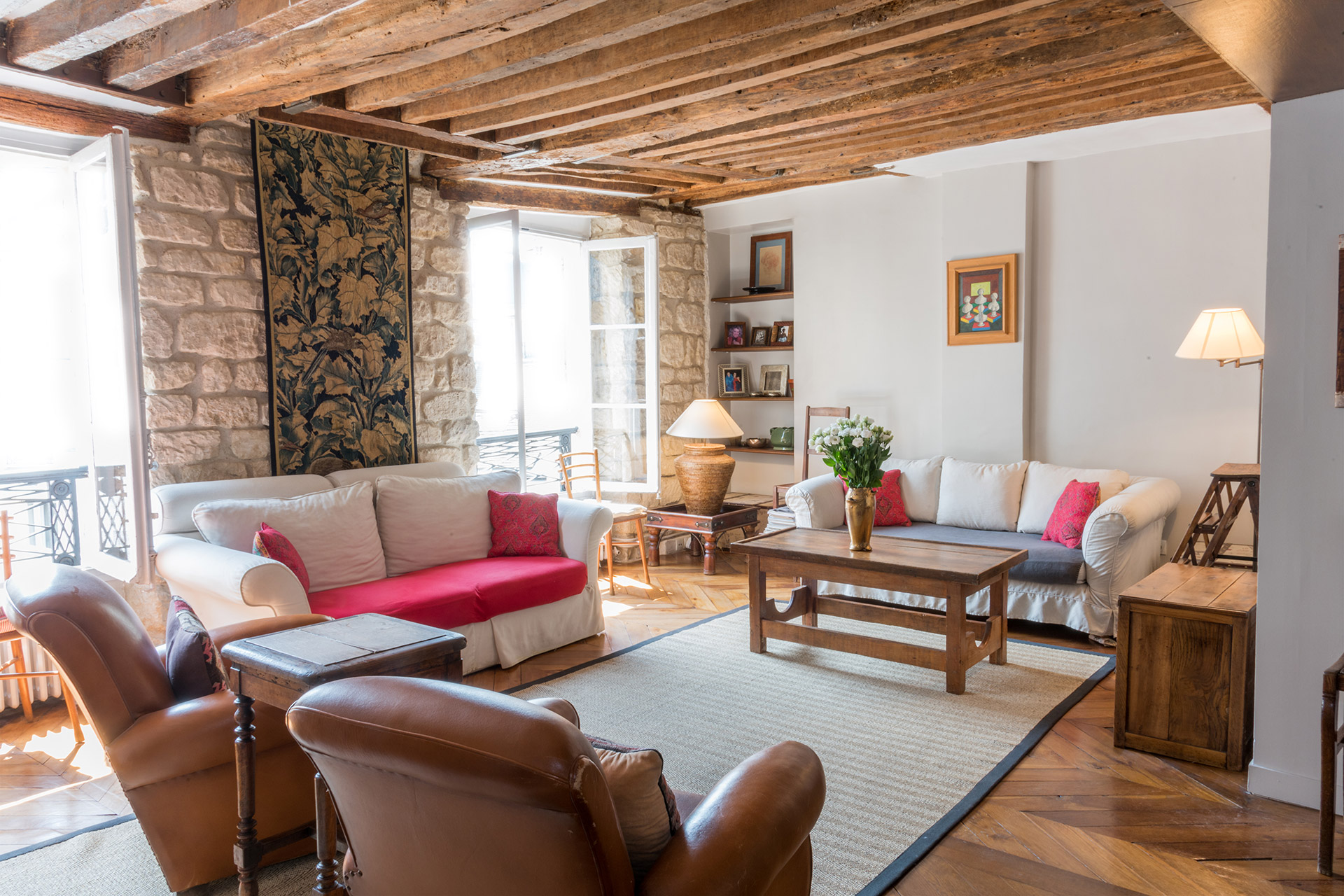 1 Bedroom Paris Rental in Historic Saint Germain