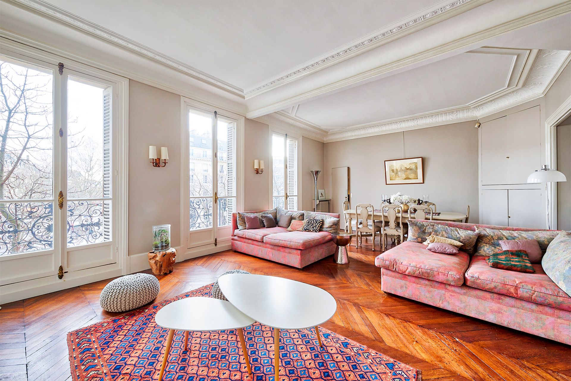 Bright 4 Bedroom Long Term Paris Rental In Saint Germain Area