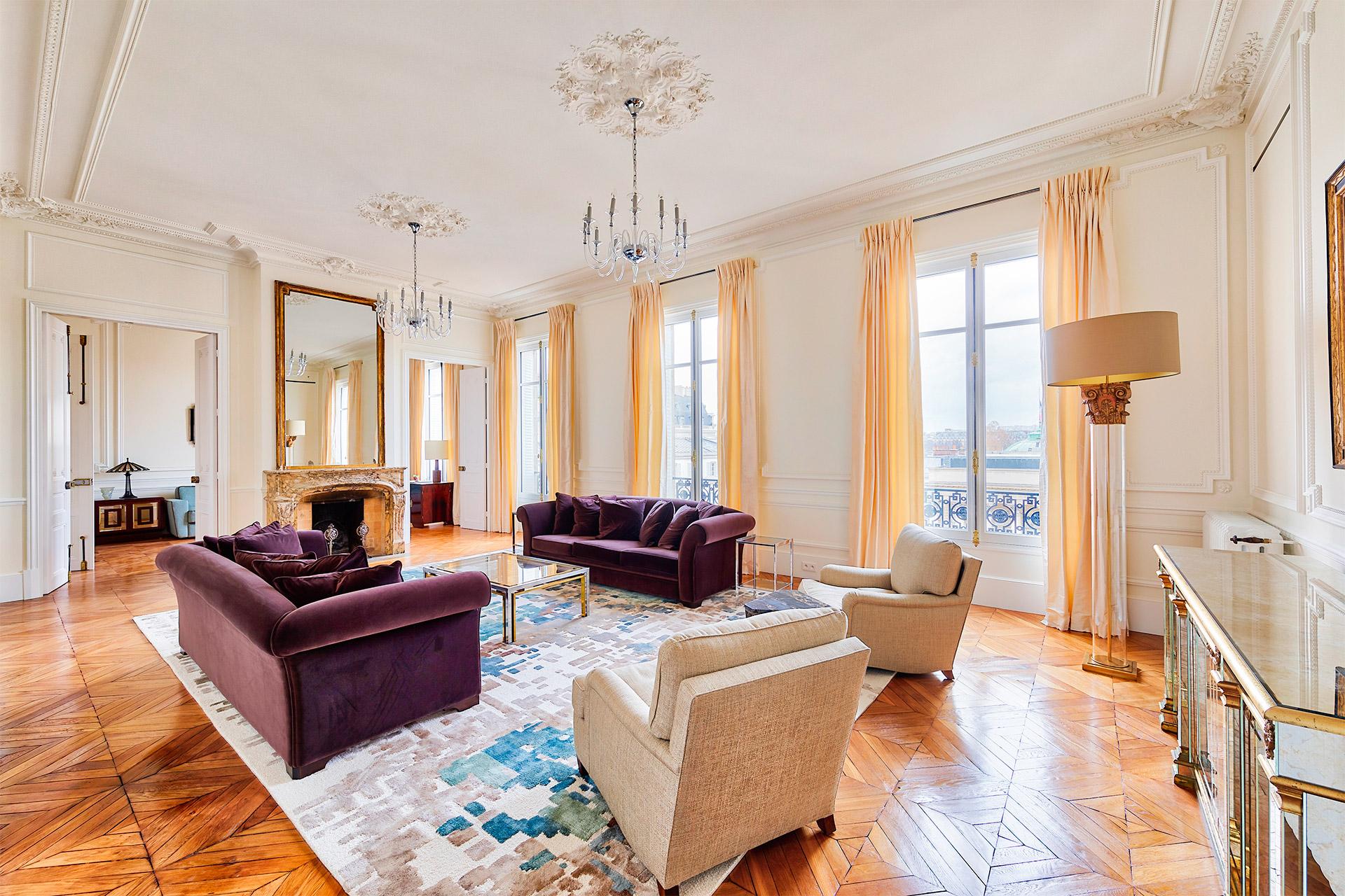 Magnificent 4 bed, 4 bath long term rental near Musée d'Orsay