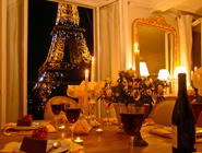Romantic dining paris perfect