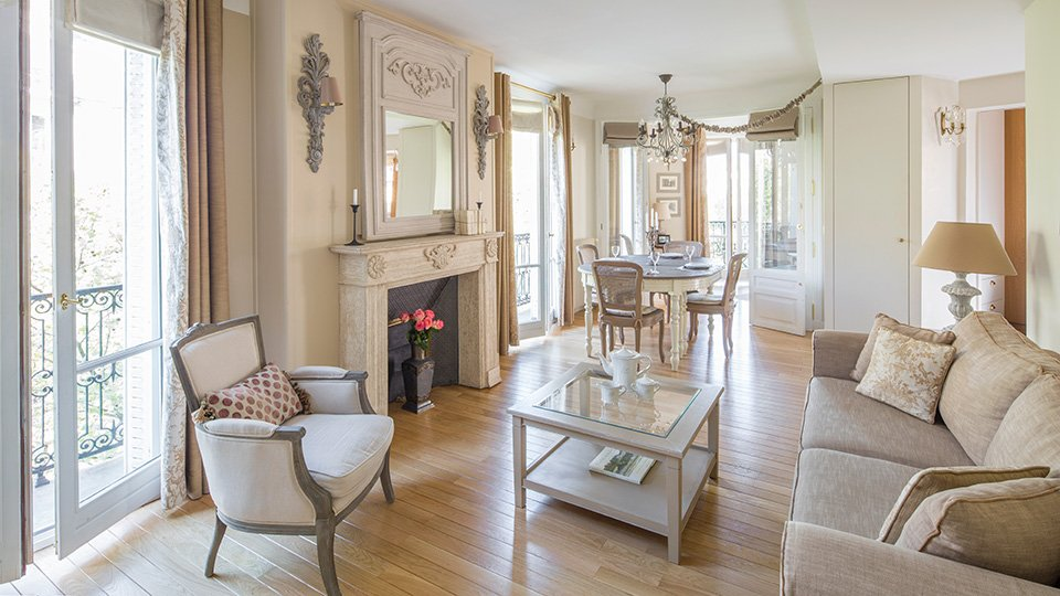 3 to 5 Bedroom Paris Apartment Rentals - Paris Perfect