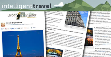 National Geographic Intelligent Travel Blog 2013 November