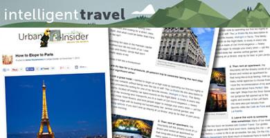 National Geographic Intelligent Travel Blog 2013 November
