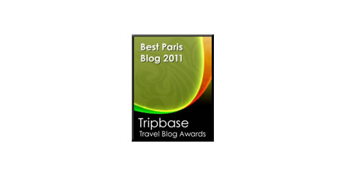 Tripbase 2011 Blog Award