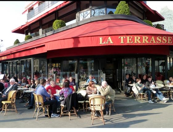 Paris Cafe De La Paix Awning