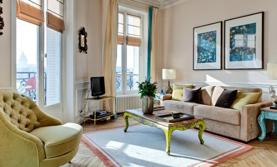 book 2 bedroom paris apartment rental on saint louis