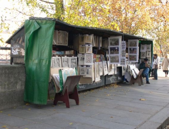 Seine River Booksellers Paris
