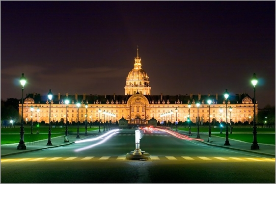Invalides Night Shot