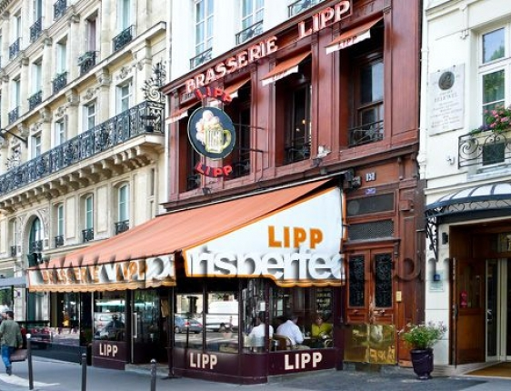 Brasserie Lipp in Paris