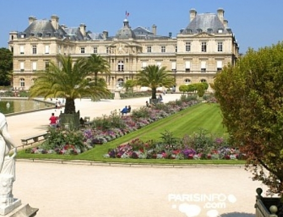 Walk to the beautiful Luxembourg Gardens in Paris