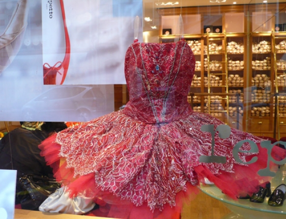 Paris ballet dress shop