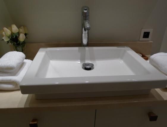 Large rectangular bathroom sink my web value for Shallow undermount bathroom sink