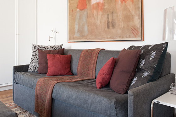 Apartment in Paris France with Sofa Bed
