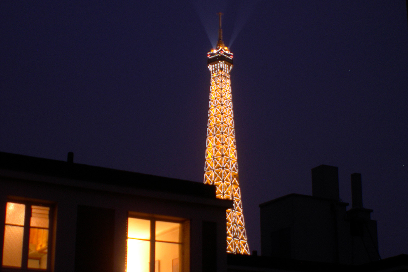 Eiffel Tower Fireworks - Corbieres Furnished Paris Apartment