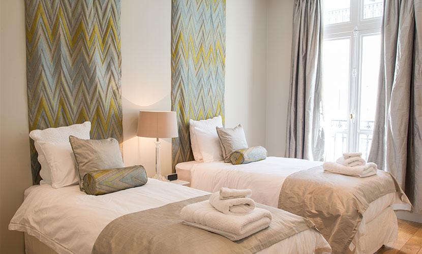 Second Bedroom in Paris Perfect Luxury Rental