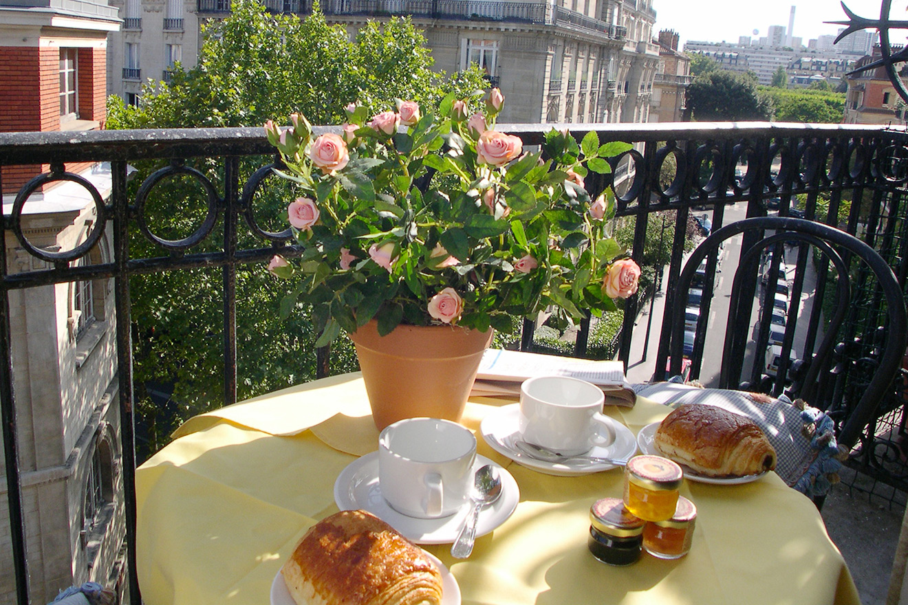 Balcony Paris Apartment Rental