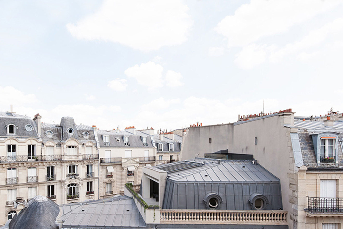 Pouilly Apartment Overlooks Parisian Rooftops