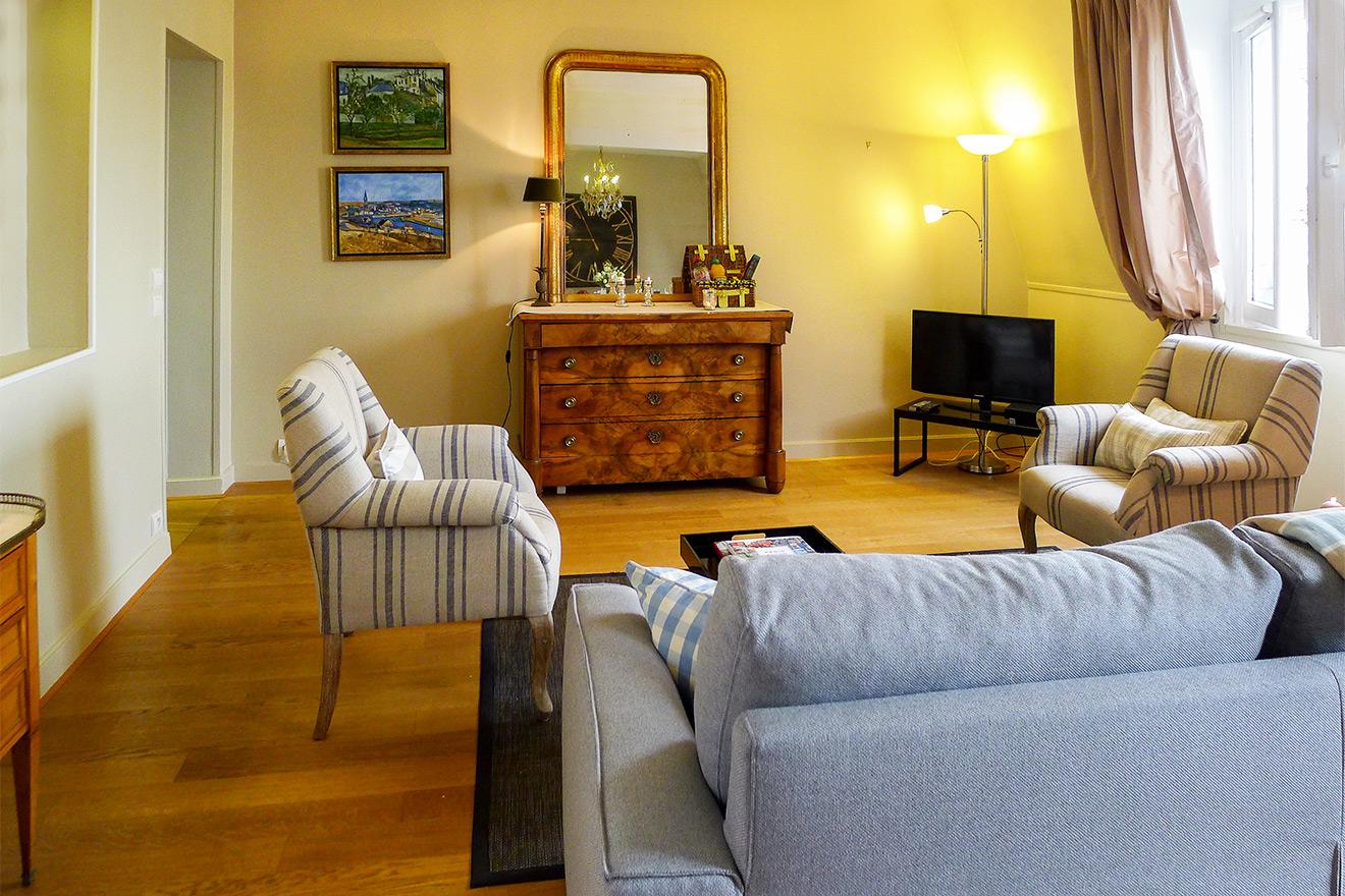 Antique Furniture Paris Apartment