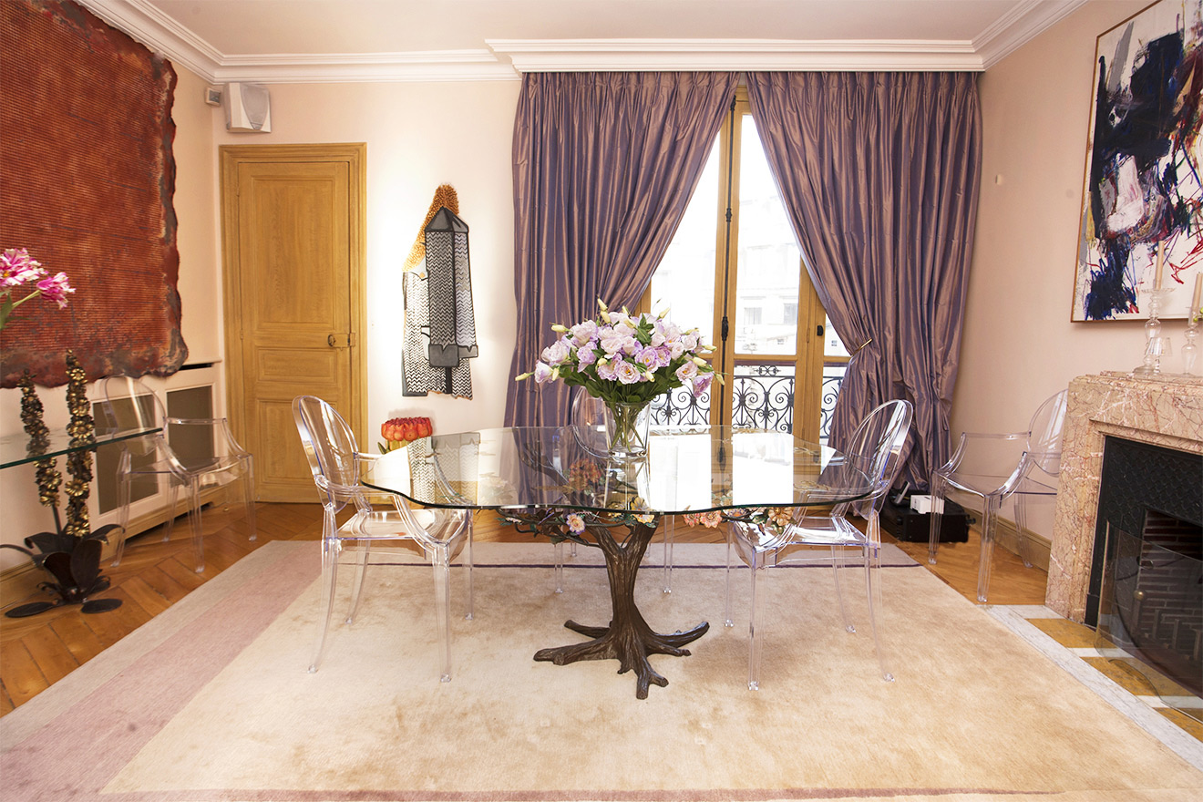 Philippe Starck Chairs Paris Apartment