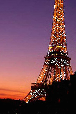 View of Eiffel Tower from Paris Volnay Apartment