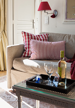 Wine in our Paris Rental