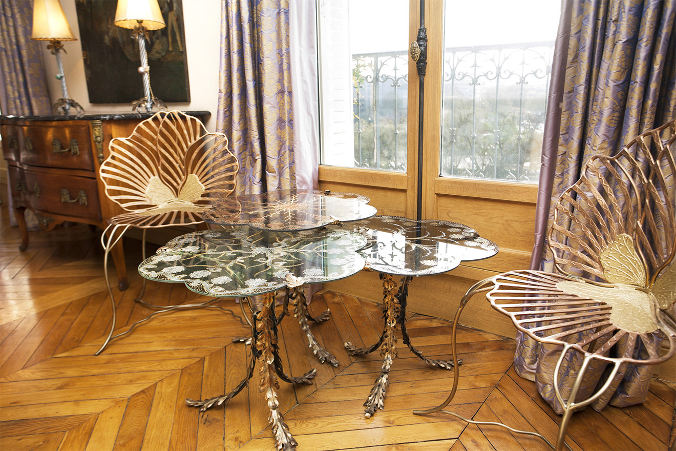 Designer Gold Chairs