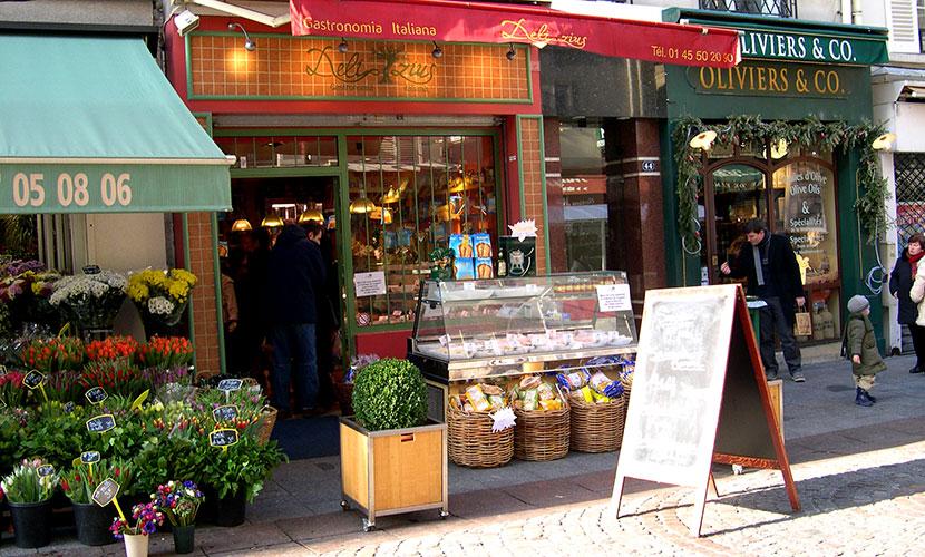 Rue Cler Market Street Paris