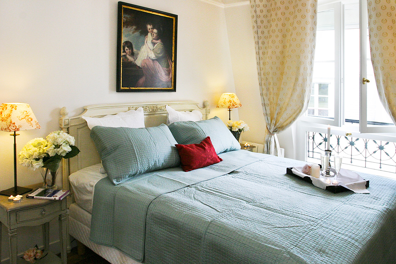 Master Bedroom - Quincy Rental Paris