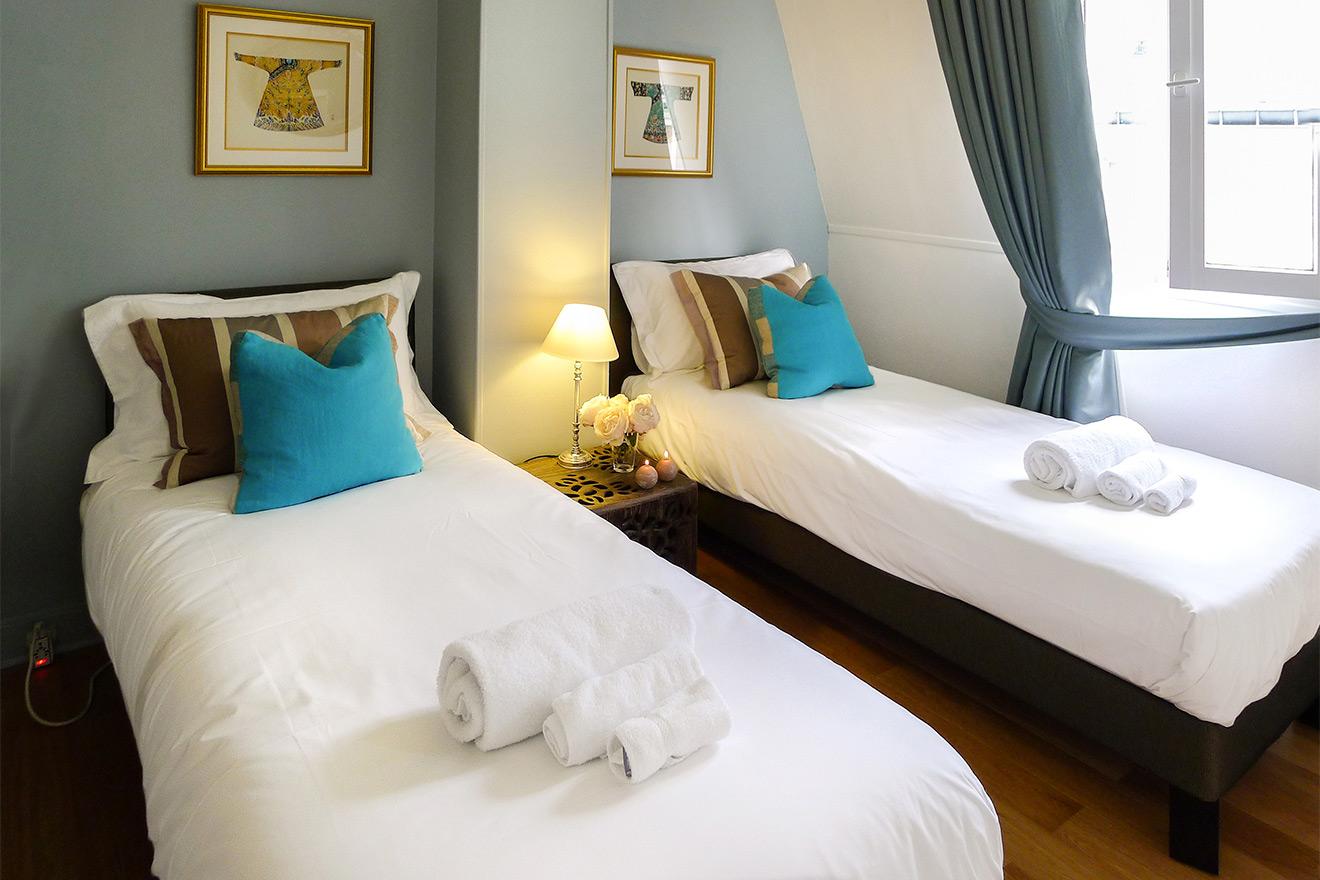 Bedroom Paris Apartment