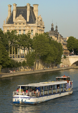 Sightseeing River Boat Paris
