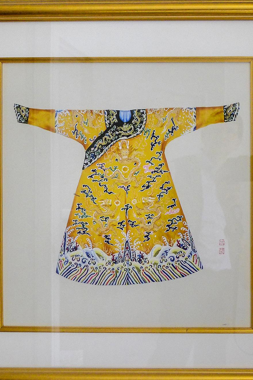 Chinese Robe Watercolor Print