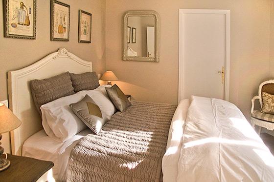 Cozy French Bedroom