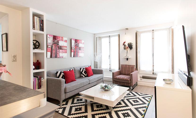 Apartment in Paris near Seine