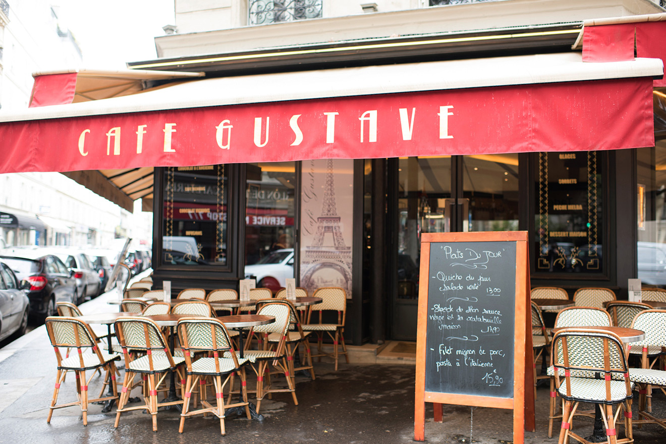 Cafe Gustave in Paris