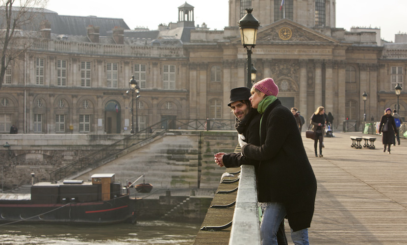 Romantic Seine River Walk