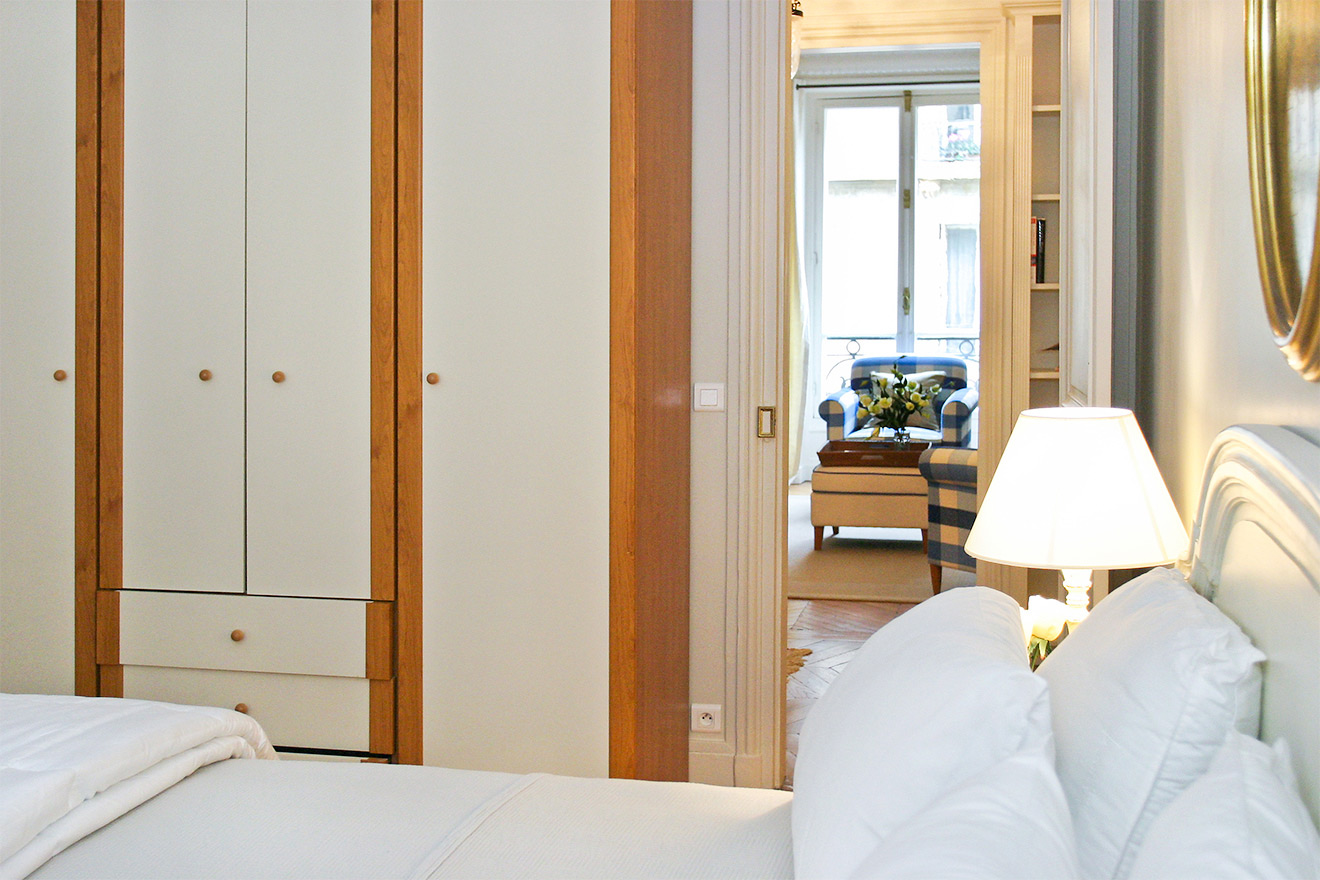 Built in Closets in Master Bedroom